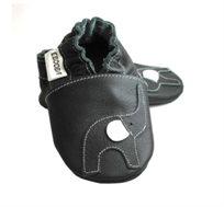 סנדלי טרום הליכה דגם פילפילון Ebooba By Premium Baby לבנים בצבע שחור