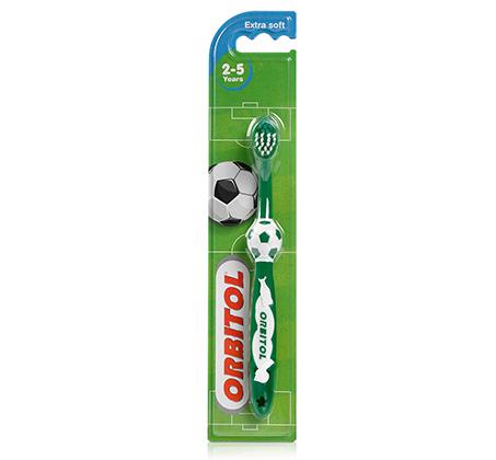 מברשת שיניים כדורגל לילדים בגילאי 2-5