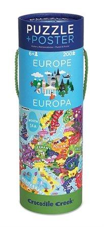 פאזל גליל - מפת אירופה