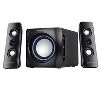 רמקולים Bluetooth PURE ACOUSTICS דגם MTX-160-BT +סט אוזניות סטריאופוניות מתנה