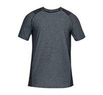 חולצת אימון לגבר Under Armour Men's MK-1 SS Shirt בצבע אפור/שחור