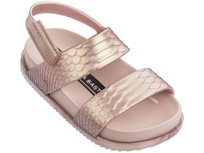 MELISSA ילדים // COSMIC SANDAL BAJA EAST METALLIC PINK