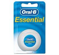 סט 9 יחידות חוט דנטלי Essential ללא שעווה 50 מ' Oral B