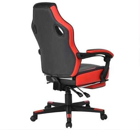 כיסא משרדי מיוחד לחובבי המשחקים לשימוש בבית ובמשרד עם הדום נפתח HOMAX - תמונה 2