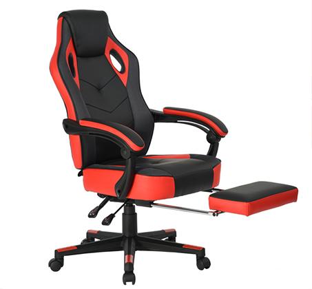 כיסא משרדי מיוחד לחובבי המשחקים לשימוש בבית ובמשרד עם הדום נפתח HOMAX - תמונה 6