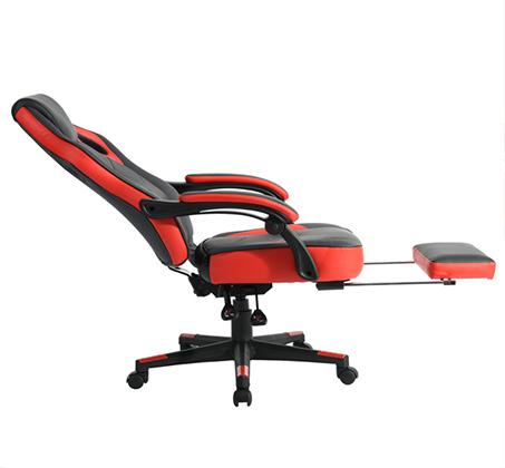 כיסא משרדי מיוחד לחובבי המשחקים לשימוש בבית ובמשרד עם הדום נפתח HOMAX - תמונה 8