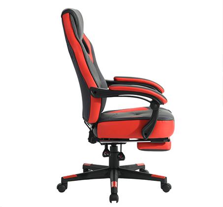 כיסא משרדי מיוחד לחובבי המשחקים לשימוש בבית ובמשרד עם הדום נפתח HOMAX - תמונה 7