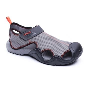 Crocs Swiftwater Sandal - סנדל טיולים בצבע אפור לגברים
