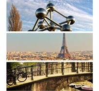 טיול בירות ואגדות! טיול משפחות ל-7 ימים מלאים לפריז-בריסל-אמסטרדם כולל יורודיסני החל מכ-$1099* לאדם!