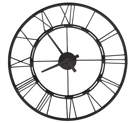 שעון קיר ספרות רומיות בצבעים לבחירה