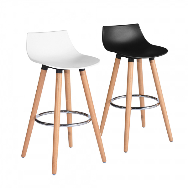 כיסא בר דגם לילי בצבעים מבריקים לבחירה HOMAX - תמונה 8