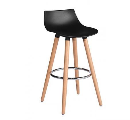 כיסא בר דגם לילי בצבעים מבריקים לבחירה HOMAX - תמונה 2