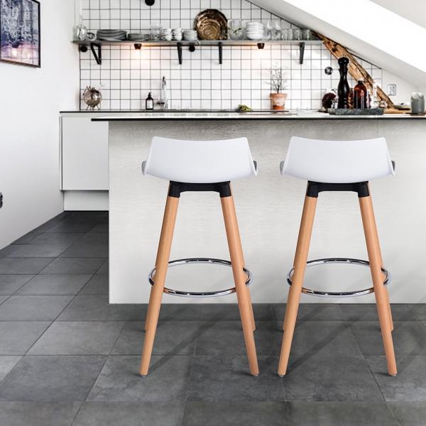 כיסא בר דגם לילי בצבעים מבריקים לבחירה HOMAX - תמונה 7