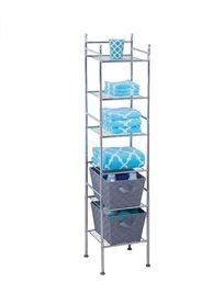 מתקן אחסון למקלחת 6 קומות מבית honey can do