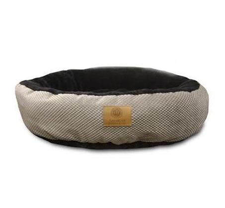 מיטת פוך AKC דג יהלום רכה לכלב