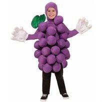 תחפושת ענבים סגולה תלת ממדית מידה 8-10 ילדים