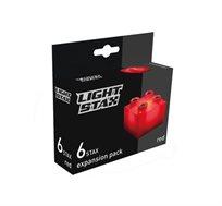 תוספת 6 קוביות מוארות אדומות LIGHT STAX JUNIOR BLOCKS - משלוח חינם!