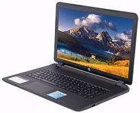"""מחשב נייד """"17.3 HP מעבד QUAD CORE זיכרון 4GB דיסק קשיח 500G מערכת הפעלה Windows 10"""