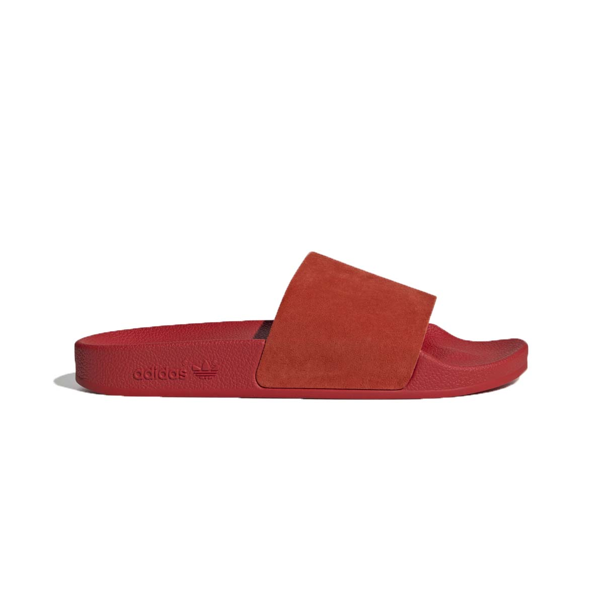 Adilette Slides Red - נשים Adidas
