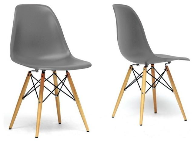 שולחן פינת אוכל עגול מעץ וארבע כיסאות בעיצוב מודרני ובמגוון צבעים וגדלים לבחירה  - תמונה 5