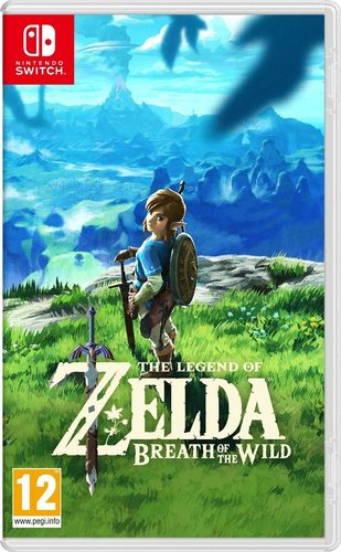 The Legend Of Zelda: Breath Of The Wild - Nintendo Switch נינטנדו סוויץ'