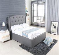 מיטה זוגית אלגנטית עם ארגז מצעים  דגם בריאנה מבית VITORIO DIVANI
