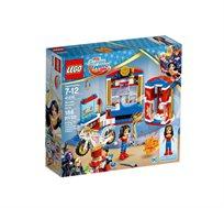 צעצועים לילדים-גיבורות על וונדרוומן משחק הרכבה 186 חלקים LEGO  - משלוח חינם