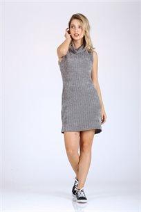 שמלה מיני אפודה -