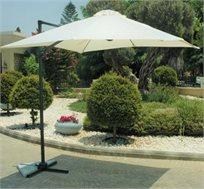 שמשיית רגל צד לגינה ולחצר בגודל 2.5X2.5 מטר דגם מיני רומא ברקושופ