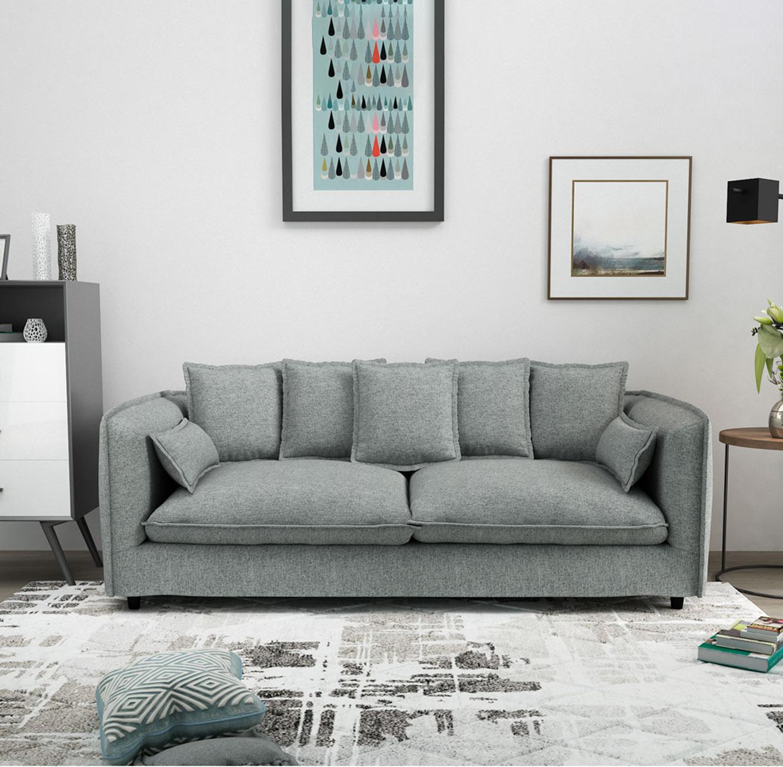 ספה תלת מושבית מעוצבת דגם ADAM בצבעים לבחירה