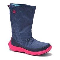 Crocs Duet Busy Day Boot - מגף נשים קרוקס בצבע כחול