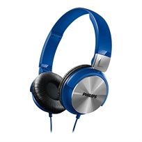 """אוזניות בסגנון DJ עם רמקול 32 מ""""מ Philips SHL3160BL"""