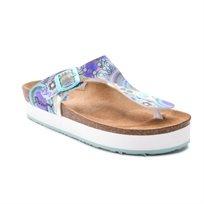 Desigual Shoes Brenda - כפכפי אצבע בשילוב הדפס