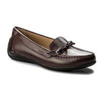 נעלי מוקסין GEOX לנשים D YUKI A - SMO.LEA - צבע לבחירה