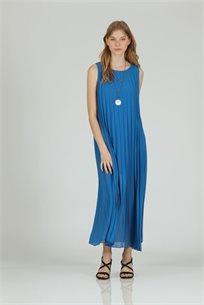 שמלה אקורד כחול -