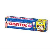 מארז 3 יחידות משחת שיניים לילדים בובספוג בטעם ענבים Orbitol
