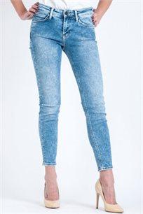 ג'ינס לנשים עם שרבוטים מפוזרים דגם L526ROAI