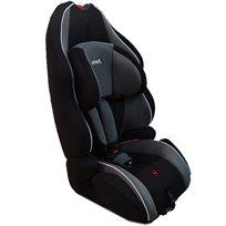 כיסא בטיחות משולב בוסטר עם משענת ראש מתכווננת שחור/אפור