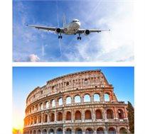 טוס וסע לרומא ל-3, 4 או 7 לילות החל מכ-€369*
