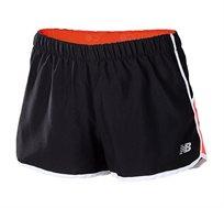 מכנסי ריצה מקצועיים לנשים - שחור/כתום