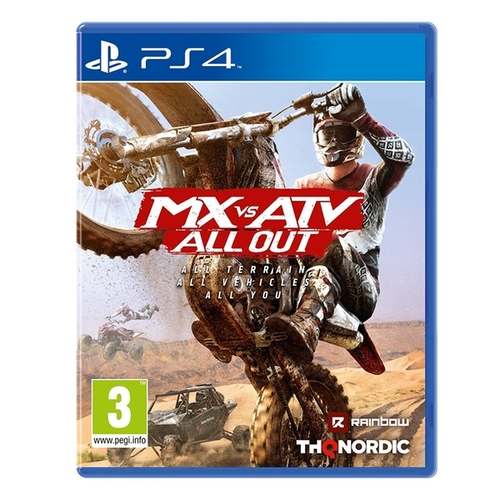 Mx Vs Atv All Out Ps4 אירופאי!