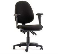 כסא מחשב אורטופדי דגם ארגו עם משענת גבוהה ומושב רחב לישיבה בריאה וממושכת מול מחשב