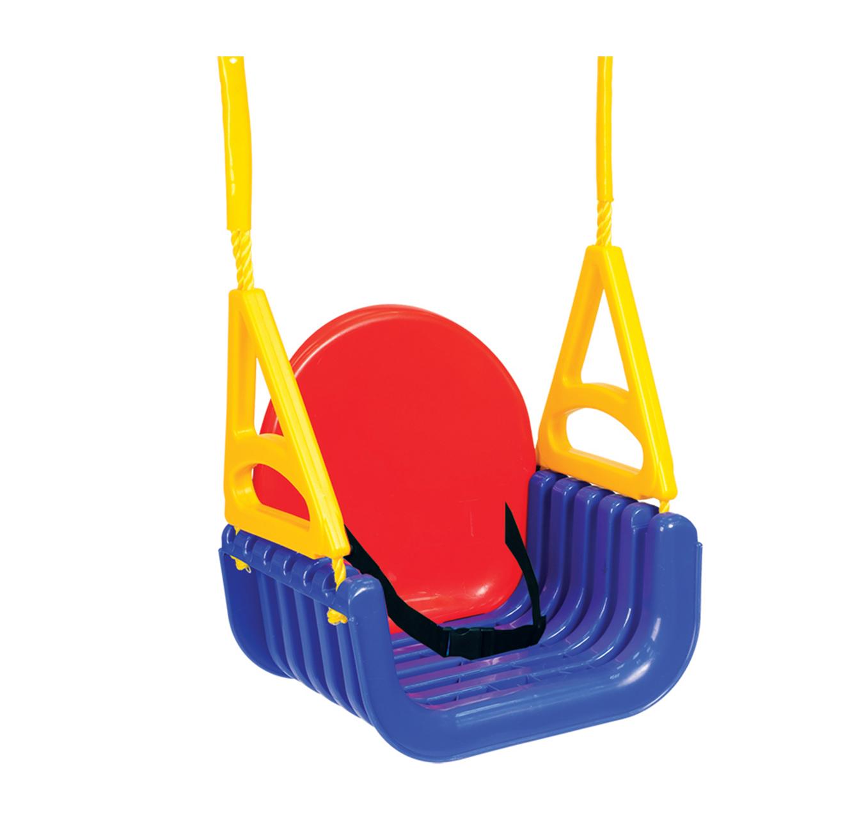 נדנדת מולטי 4 שלבים צבעונית לילדים למרפסת ולחצר Starplast - תמונה 2