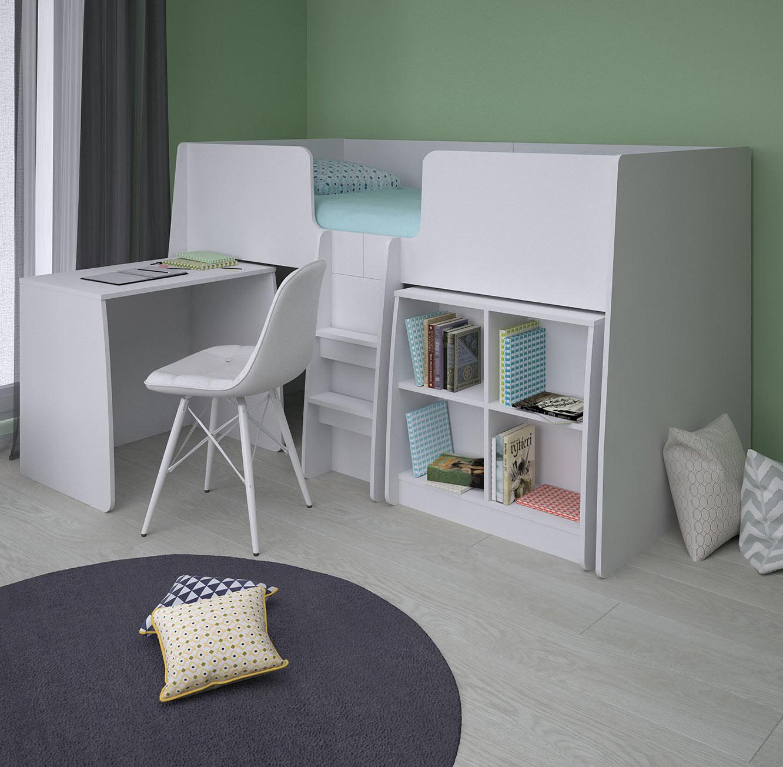 חדר ילדים דגם קומפלט בצבעים לבחירה