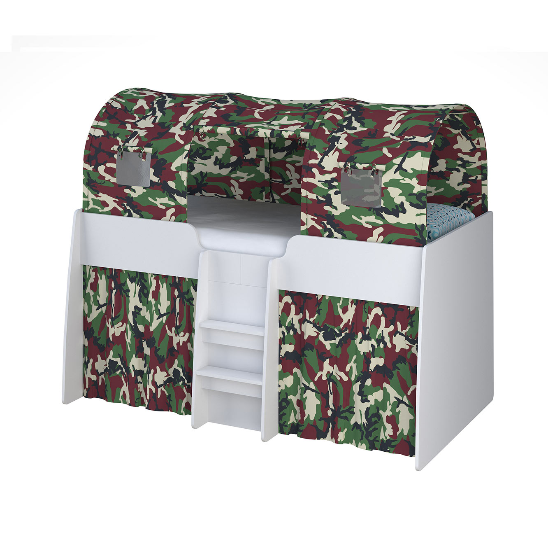 מיטת ילדים גלריה + מזרן + כוורת ושולחן כתיבה ניידים דגם קומפלט תוצרת סוכריה - תמונה 7