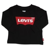LEVIS תינוקות// LONG SLEEVE GRAPHIC TEE BLACK