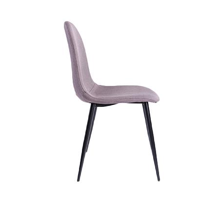 כסא אוכל מרופד בעיצוב מודרני וייחודי דגם 800 - תמונה 3