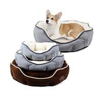 מיטת פליז לכלבים וחתולים