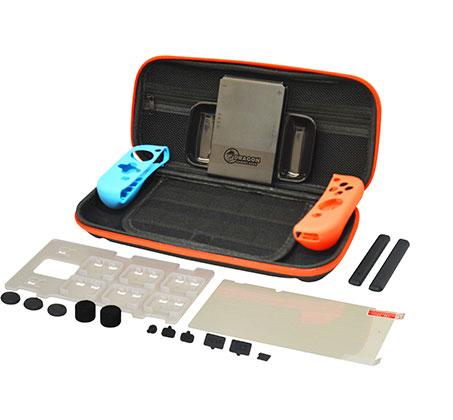 ערכת אביזרים ועזרים לנינטנדו סוויצ' DRAGON למשחק בתוך הבית ומחוצה לו  premium kit Switch 6 in 1 - תמונה 3