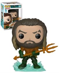Funko Pop - Aquaman (Aquaman) 245 בובת פופ